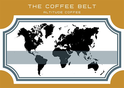 the coffee belt by altitude coffee