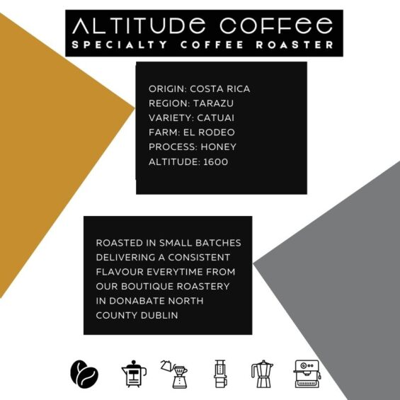 costa rica tarazu coffee by altitude coffee