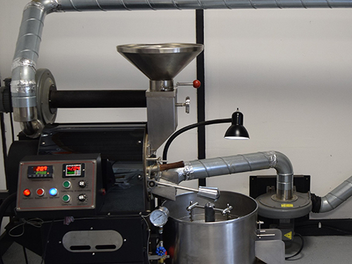 roasting machine drum roaster la marzocco by altitude coffee